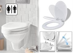 Dagaanbieding: Toiletbril met Softclose Deksel en Quick Release