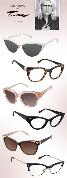The Style Legacy Thrives with Kate Young for Tura: http://eyecessorizeblog.com/2015/05/style-legacy-thrives-kate-young-tura/