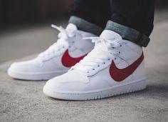 Riccardo Tisci R.T. NikeLab Dunk Lux Chukka Mid 'White Red'