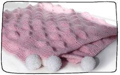 Baby blanket. 3D pattern