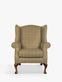 Parker Knoll Oberon Armchair, Murray Herringbone Gold at John Lewis & Partners Green Room Colors, Green Rooms, Parker Knoll Chair, Wingback Chair, Armchair, Green Vans, Wing Chair, Curtains With Blinds, John Lewis