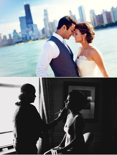 LOVE. Love, love this Chicago wedding seen through the lens of Olivia Leigh Photographie.