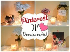DIY'S para tu Habitacion! PINTEREST - YouTube