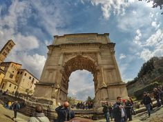 What to see in Rome - Arch of Titus
