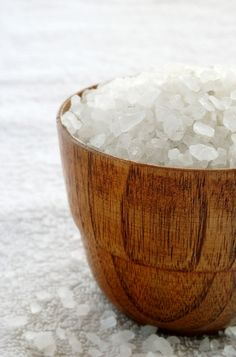Add 1 cup sea salt to a warm bath and your favorite essential oil) or lavender to relax, juniper to detox, cypress to slim the hip area. Lights out...relax and enjoy!