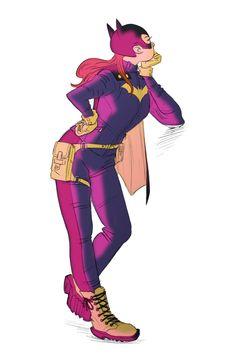 Batgirl by Lara Margarida