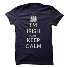 im irish i cant keep calm - #gift for girls #candy gift. LOWEST PRICE => https://www.sunfrog.com/St-Patricks/im-irish-i-cant-keep-calm.html?68278