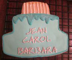 Birthday Cake Cookie, 3 sisters