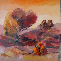 Művészkedéseim: Narancsos árnyalatok