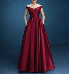 2018 Long Sleeve Gold Prom Dresses,Long Evening Dresses,Prom Dresses On Sale Want a glamorous red carpet look for a fraction of the price? Plus Size Wedding Dresses With Sleeves, Cute Dresses For Party, Prom Dresses With Pockets, Plus Size Dresses, Gold Prom Dresses, Prom Dresses For Sale, Bridesmaid Dresses, Red Satin Prom Dress, Dresses Dresses