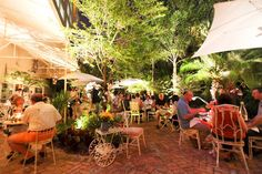 5 Perfect Spots For A (Beautiful!) Quickie Miami Wedding  #refinery29  http://www.refinery29.com/best-wedding-spots-miami#slide5  Peacock Garden Café If Anthropologie branched out into the restaurant business, it would look just like Peacock Garden Café. The owners of this adorable Coconut Grove hidden gem are so accommodating when it comes to private events that you may just want to move in. Completely customize a brunch, lunch, or dinner event and host it outside on the patio (our fave!) ...