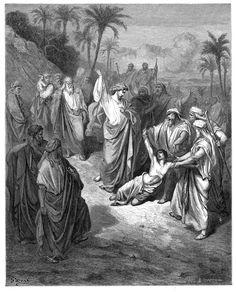28. Jesus Healing the Lunatic (Gustave Doré)