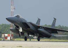 The Aviationist » The U.S. Air Force is deploying 12 F-15 jets to Europe as first Air National Guard theater security package