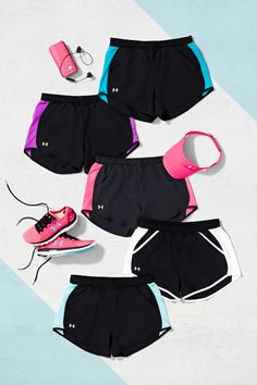 The perfect running short has arrived. Soft and light with perfect pockets, the UA Fly-By Short will help you fly and feel fantastic.