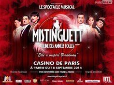 Amoureux(se) des spectacles de Broadway? Mistinguett est pour vous. #broadway #spectacle #musical