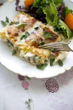 Recipe: Creamy Chicken Alfredo Lasagna Roll-Ups — Recipes from The Kitchn