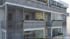 Render works abitazioni con vetrate