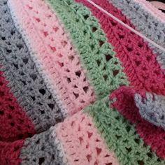 Crochet blanket pattern in progress #crochet #crochetpattern #blanket… http://www.poochie-baby.com/crochet-blanket-pattern-in-progress-crochet-crochetpattern-blanket-babyblanket-crocheting/ …