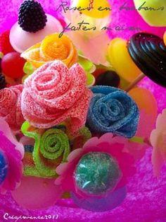 DIY : bouquet de fleurs en bonbons