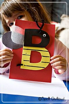 "Letter ""B"" craft"