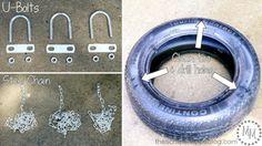 How to Make a Tire Swing | TodaysCreativeLife.com