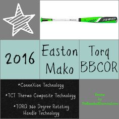 Why You Will Love the 2016 Easton MAKO TORQ BBCOR Baseball Bat