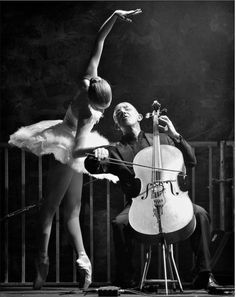 One of my favorite dance classes of all times was a modern class where we danced to a live cellist.  Beautiful.