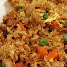 Quick Chicken Fried Rice                                                              I made this but with shrimp. Delicious!