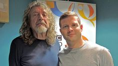 Robert Plant photographed recently with Dermot O'Leary