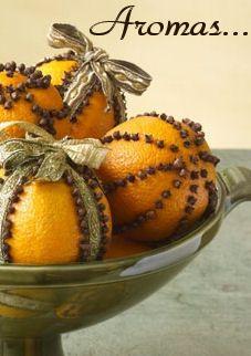Clove oranges for aroma om zelf te maken samen met bewoners.