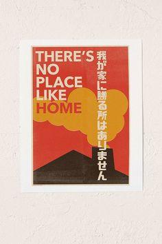 Slide View: 1: The Designers Nursery Japanese Typography 2 Wall Art Print