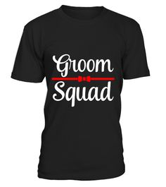 d4a985ec32 Mens Groom Squad Bachelor Party T-Shirt . Special Offer, not available in