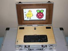 LapPi is a DIY Raspberry laptop