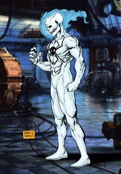 Ghost Spider by mdavidct on DeviantArt Spider Art, Spider Verse, Comic Books Art, Comic Art, Spider Man Unlimited, Ghost Rider Pictures, Ghost Rider Marvel, Spectacular Spider Man, Superhero Villains
