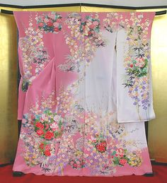 Japanese Kimono, Collars, Floral Tops, Dressing, Summer Dresses, Bleach, Sleeves, Paintings, Clothes