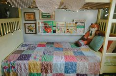 adorable children's room by Kristin Rogers from A Beautiful Mess  http://www.abeautifulmess.com/2012/10/at-home-with-kristin-rogers.html#