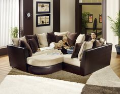This is an interesting sectional sofa idea.