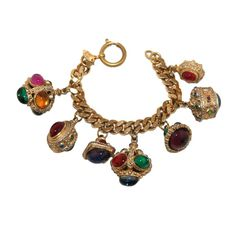 Chanel Indian Style Charms Bracelet