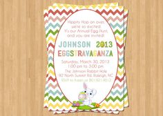 @Ali- we should do this! :) Easter Egg Hunt Invitation Easter Party by TheOlivePressPaper, $15.75