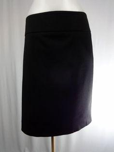 EXPRESS DESIGN STUDIO 10 Black Straight Pencil Skirt #Express #StraightPencil