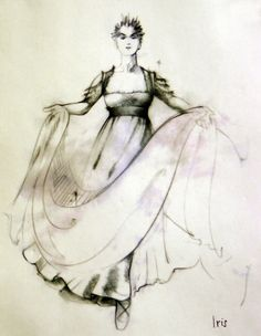 The Tempest (Iris). The Hartford Stage. Costume design by Fabio Toblini.