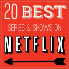 for a new show in Netflix? Here is a list of 20 of the BEST Series and Shows currently available on Netflix!Looking for a new show in Netflix? Here is a list of 20 of the BEST Series and Shows currently available on Netflix! Best Series On Netflix, Netflix Shows To Watch, Good Movies On Netflix, Tv Series To Watch, Netflix And Chill, Movies To Watch, Lds Movies, Family Movies, Movies Online