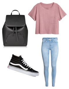 """""""Untitled #199"""" by briannaxbolivar on Polyvore featuring H&M and Vans"""