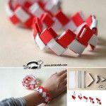 Paper+bracelet+origami