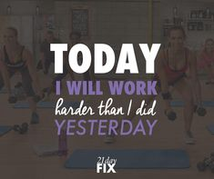 Push yourself EVERY day to get MAX results - it's short lived and those abs are yours!