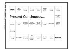 A great way to practice using the present continuous.