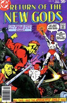 Comic Books For Sale, Dc Comic Books, Comic Book Covers, Bd Comics, Marvel Comics, Iphone Wallpaper Kanye, Superman Family, Fourth World, New Gods