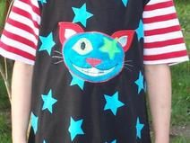 T-Shirt Shirt FRECHE KATZE 98 / 110