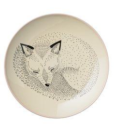 Vaisselle Assiette Renard - Inspirations
