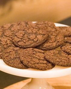 Grammys chocolate cookies Anne Feldman's grand prize-winning recipe in our Cookie of the Week contest was a gift from her grandmother Ivyle Phinney Morrow. Chocolate Cookie Recipes, Cookie Desserts, Chocolate Cookies, Chocolate Desserts, Just Desserts, Delicious Desserts, Dessert Recipes, Chocolate Chips, Baking Recipes